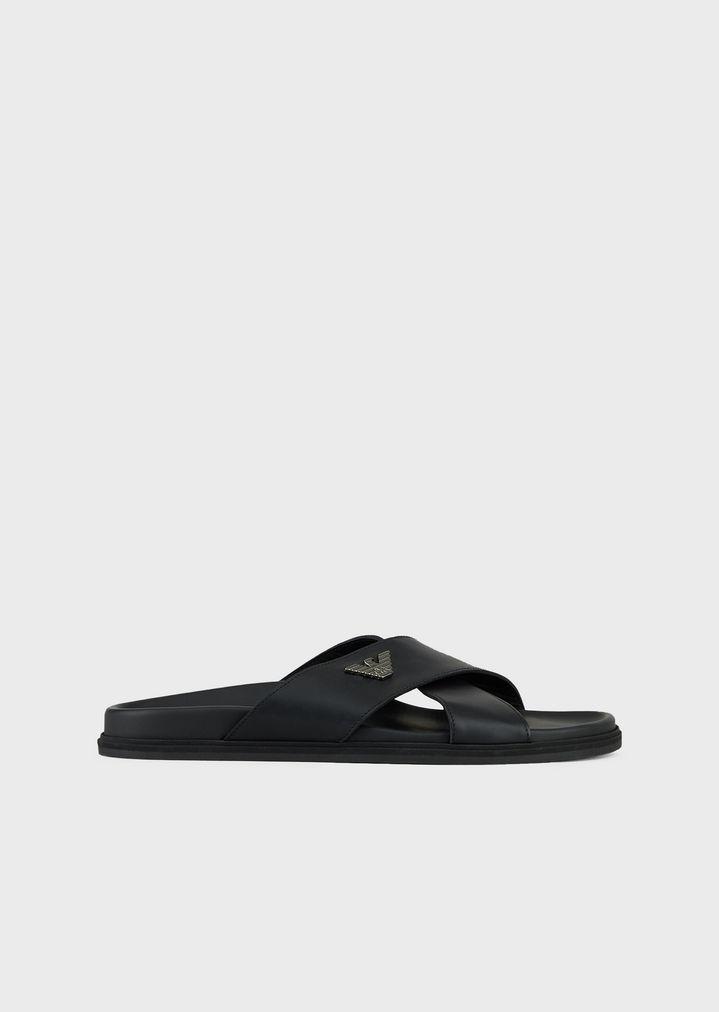 50ec909c45bc Leather sandals
