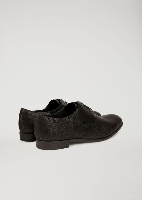 Santiago leather Derby shoes