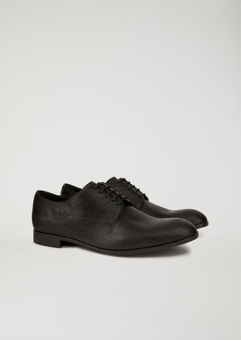 Santiago leather Derby shoes