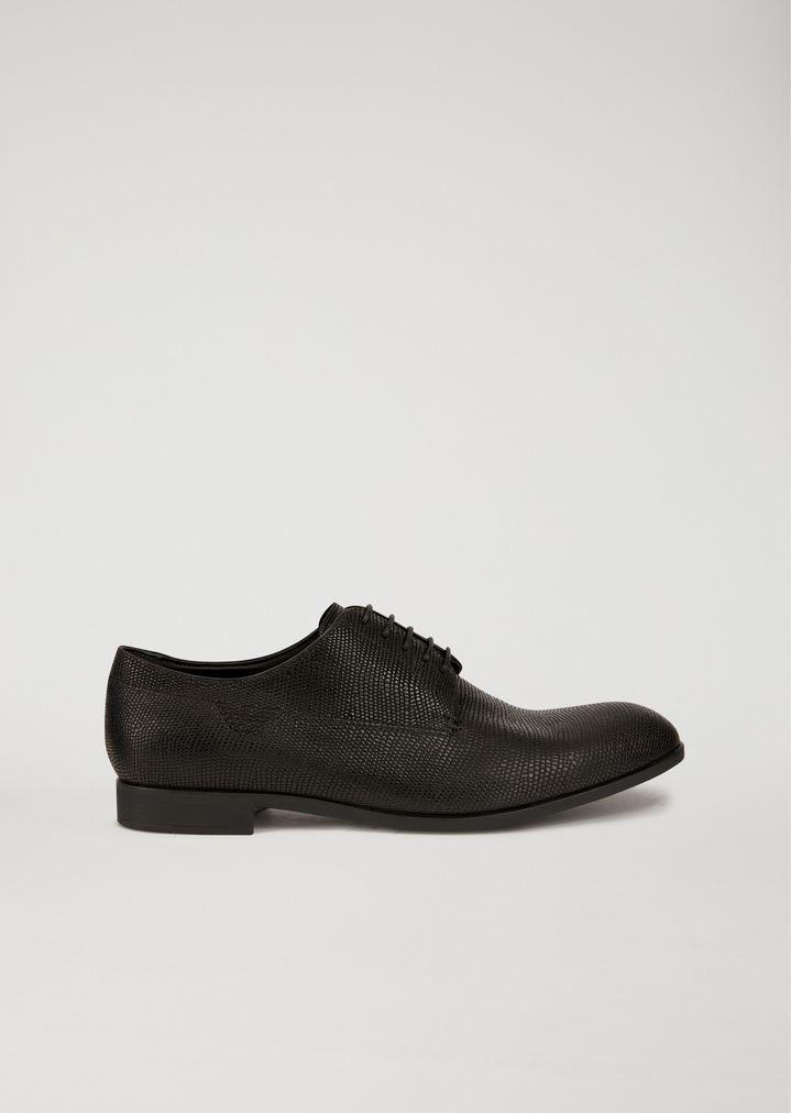 8b2033b7 Santiago leather Derby shoes