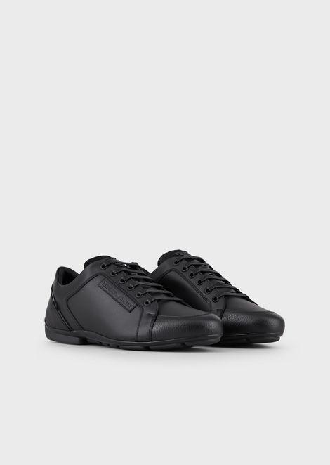 Sneakers In Pelle Bottalata