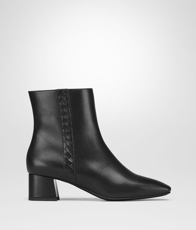 BOTTEGA VENETA NERO CALF CHERBOURG ANKLE BOOT Boots and ankle boots Woman fp