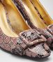 BOTTEGA VENETA DESERT ROSE PATENT CALF CHERBOURG PUMP Pump or Sandal Woman ap
