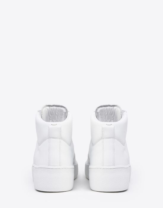 MAISON MARGIELA Calfskin high top sneakers Sneakers [*** pickupInStoreShippingNotGuaranteed_info ***] d