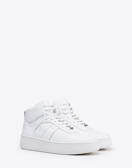 MAISON MARGIELA Calfskin high top sneakers Sneakers [*** pickupInStoreShippingNotGuaranteed_info ***] r