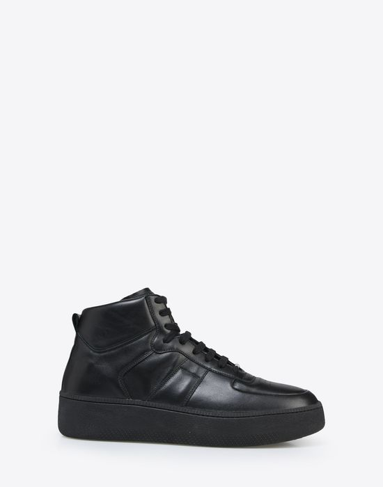 MAISON MARGIELA Calfskin high top sneakers Sneakers [*** pickupInStoreShippingNotGuaranteed_info ***] f