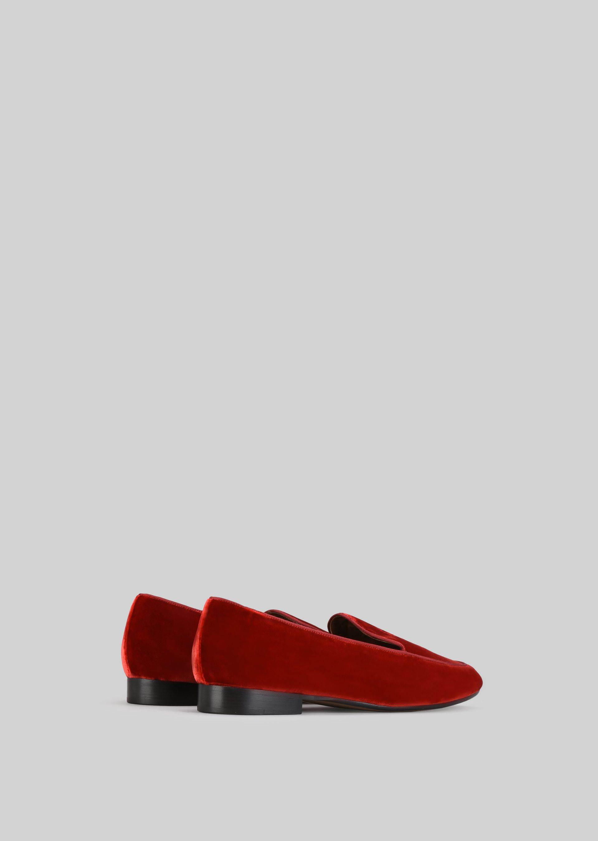 GIORGIO ARMANI VELVET LOAFERS Loafers D d