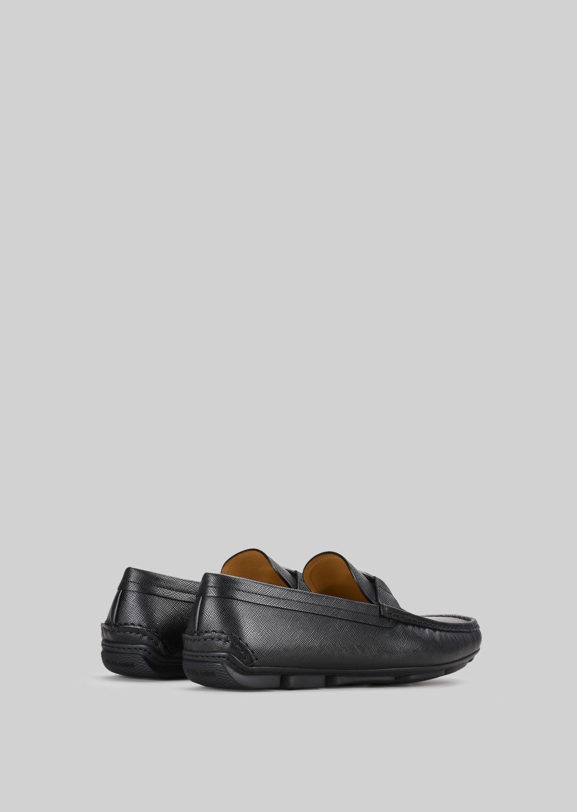 GIORGIO ARMANI LEATHER DRIVING LOAFERS Driving Shoes U d