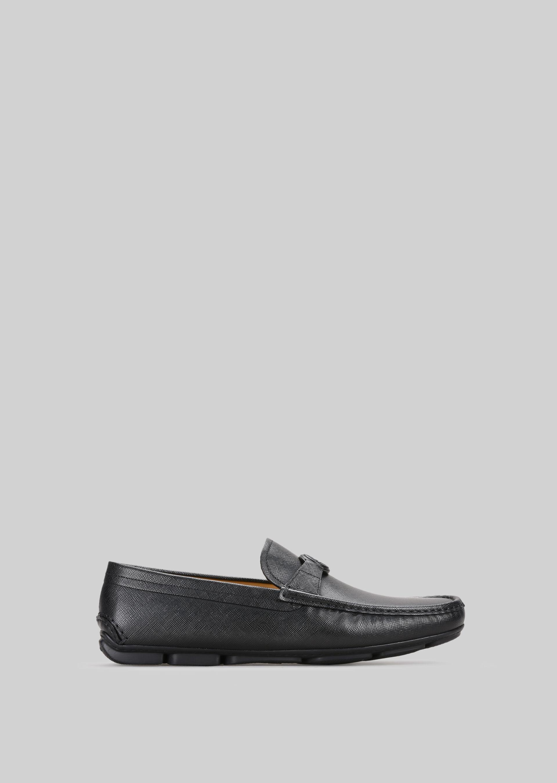 GIORGIO ARMANI LEATHER DRIVING LOAFERS Driving Shoes U f