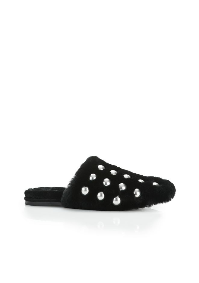 ALEXANDER WANG new-arrivals-shoes-woman FUR AMELIA SLIDE
