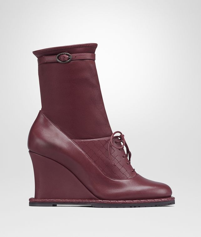 BOTTEGA VENETA BAROLO CALF WEDGE Boots and ankle boots Woman fp