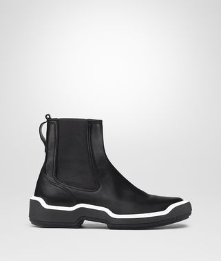 NERO CALF VOORTREKKING STRIPE ANKLE BOOT