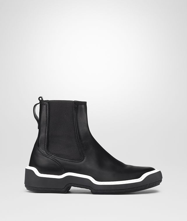 BOTTEGA VENETA NERO CALF VOORTREKKING STRIPE ANKLE BOOT Boots and ankle boots Man fp