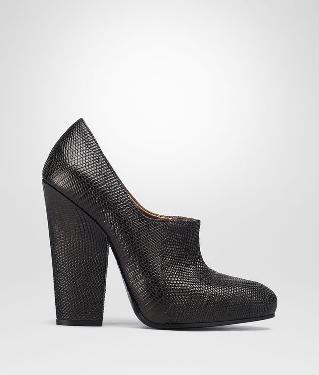 BOTTEGA VENETA NERO LIZARD PUMP Pump or Sandal D fp