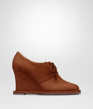 LEATHER SUEDE WEDGE