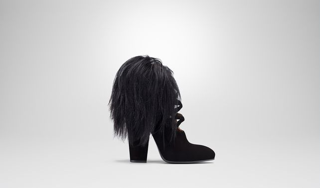 NERO SUEDE ANKLE BOOT