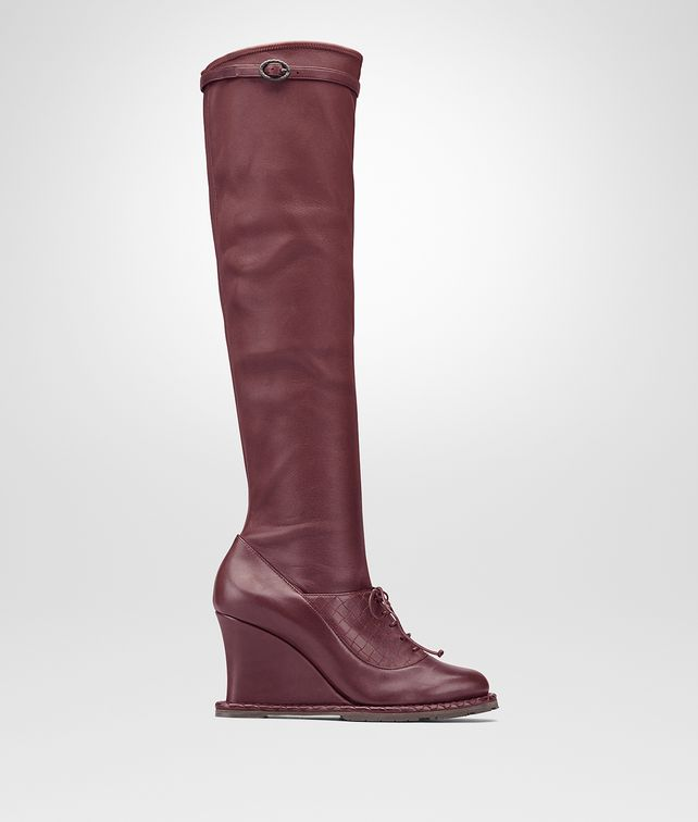BOTTEGA VENETA BAROLO CALF WEDGE Boots and ankle boots D fp