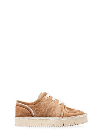 Marni Sneaker in calfskin Woman