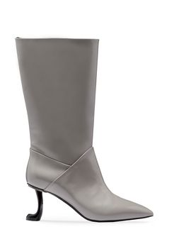 Marni Boot in brushed calfskin Woman