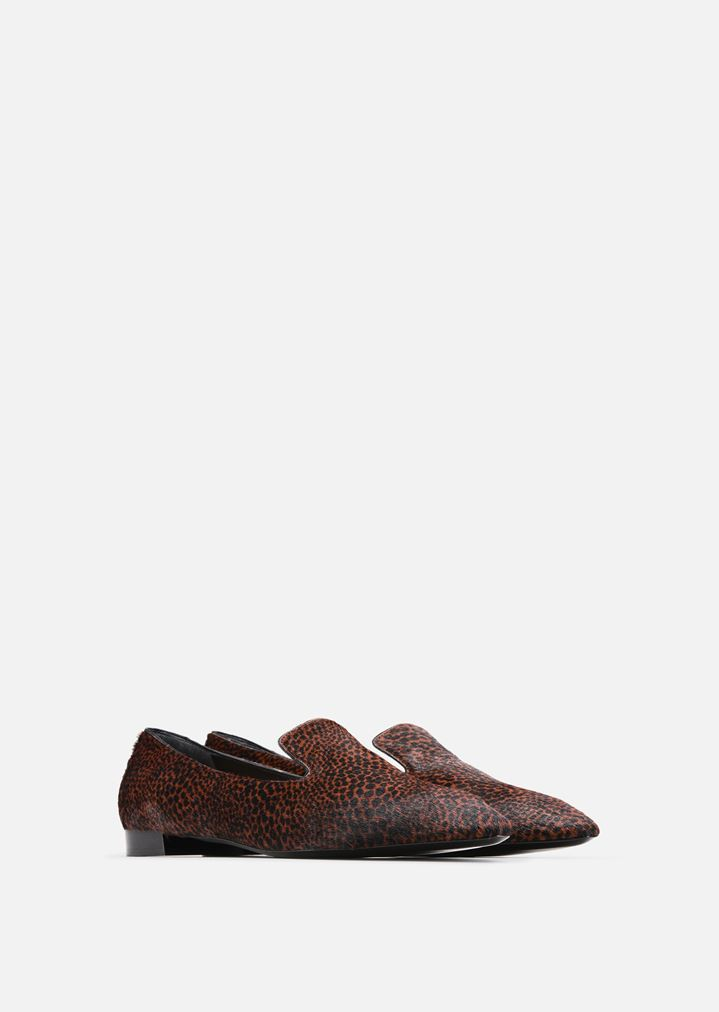 553034718b085 BALLET FLATS IN LEATHER AND PONY SKIN | Woman | Emporio Armani
