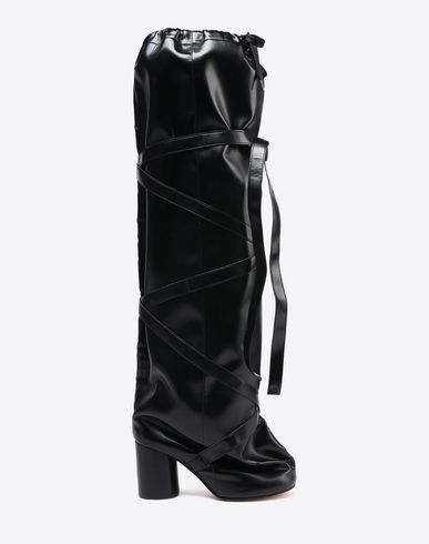 MAISON MARGIELA Boots D Oversized knee-high boots f