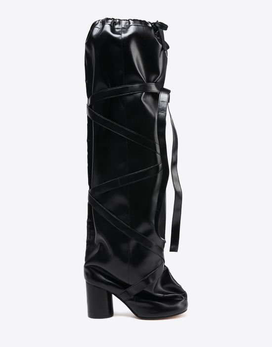 oversized long tabi boots - Black Maison Martin Margiela Discount 2018 New Shopping Online With Mastercard 5OsEu