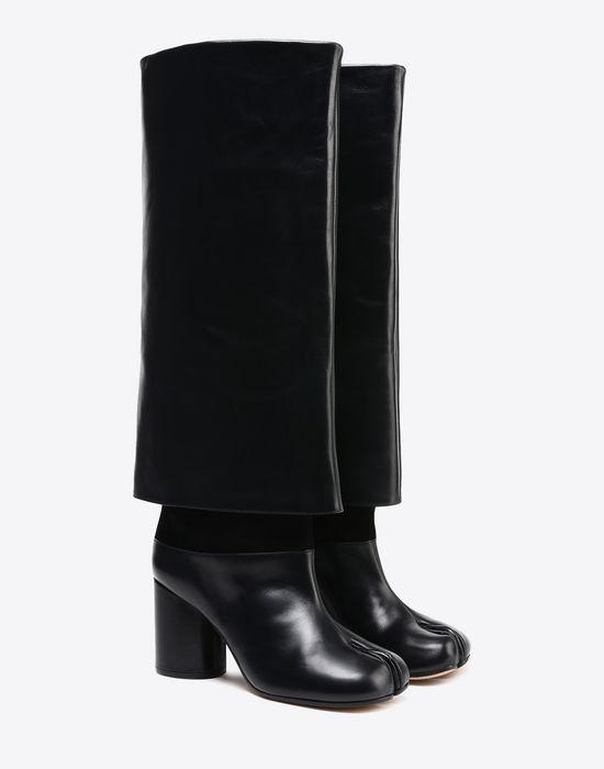 Maison Margiela Trompe L'oeil Tabi boots MHFJu06Jp