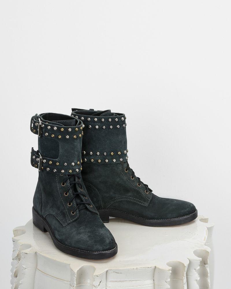 db011e031a7 ... Teylon Ranger style studded leather ankle boots ISABEL MARANT ...