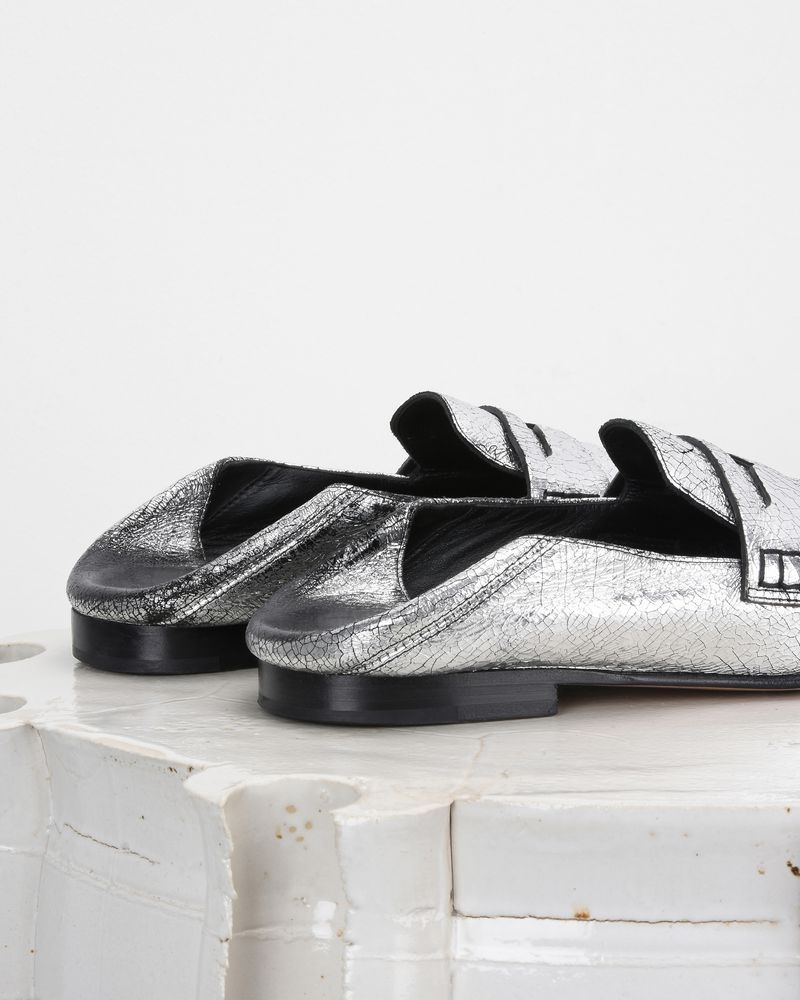 FEZZY silver loafers ISABEL MARANT