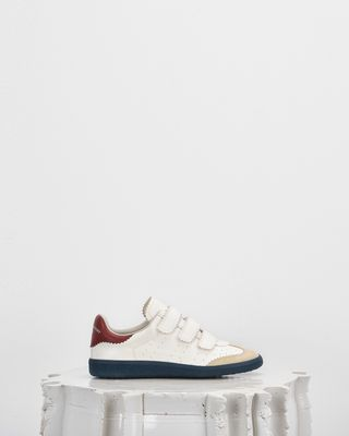 ISABEL MARANT SNEAKERS Woman BETH low top Velcro trainers d