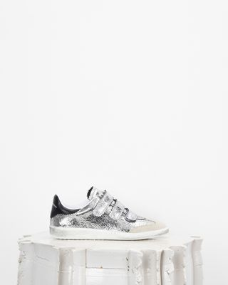 ISABEL MARANT SNEAKERS Woman BETH low top Velcro sneakers d