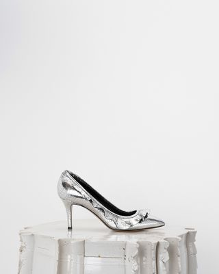 ISABEL MARANT HEELS Woman POWEEN silver high heels d