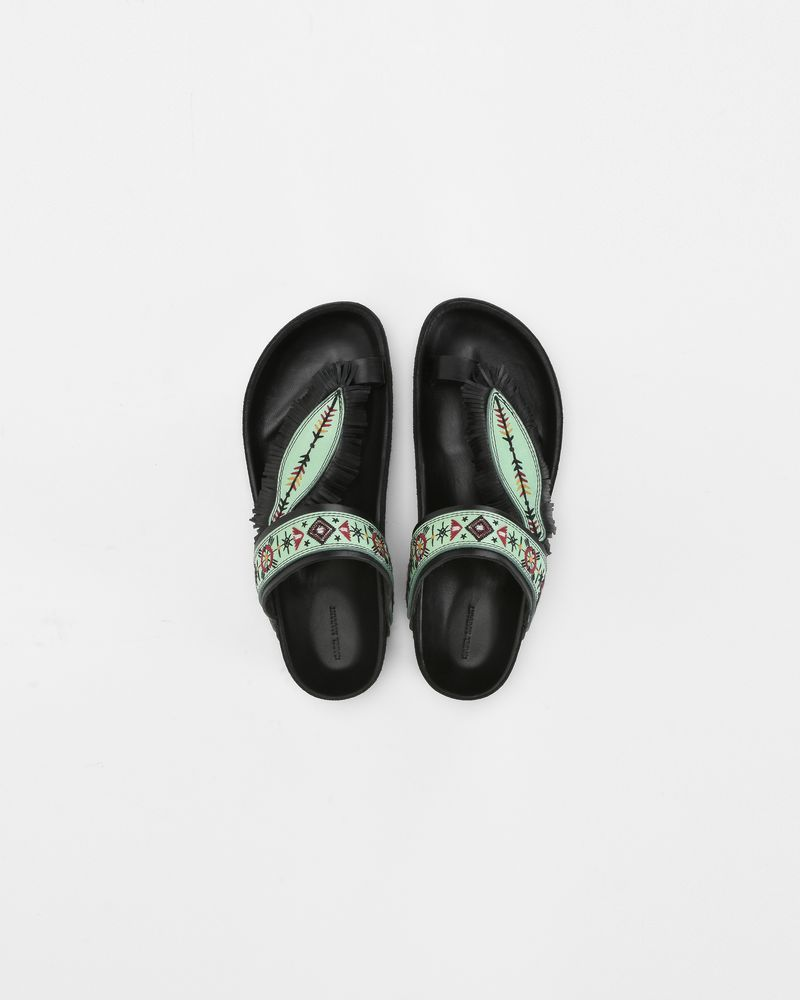 EBANN embroidered sandals ISABEL MARANT