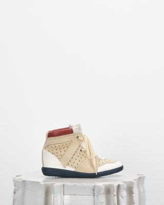 ISABEL MARANT SNEAKERS Woman BETTY wedge heel lace-up sneakers d