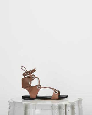 ISABEL MARANT SANDALS D JAYSTA lace-up sandals d