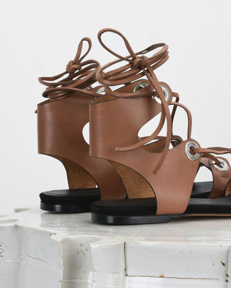 JAYSTA lace-up sandals ISABEL MARANT