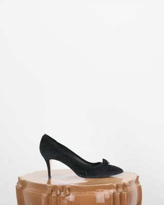 ISABEL MARANT HEELS D POWEEN high heels with ruffle d