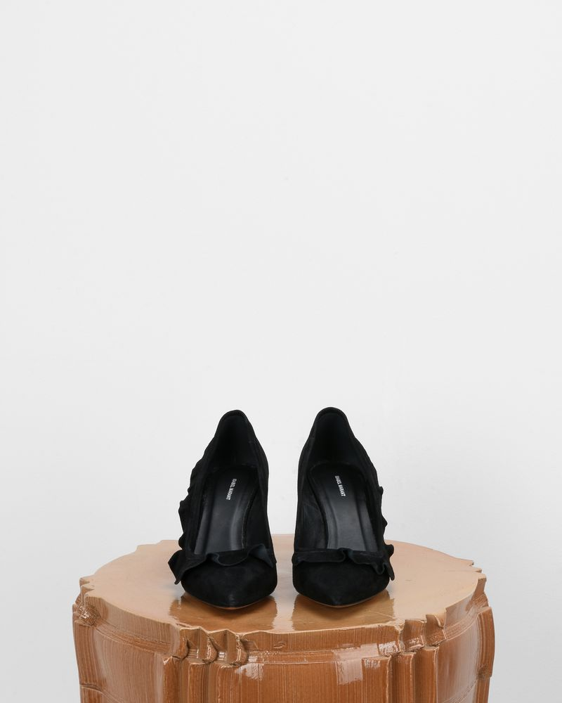 POWEEN high heels with ruffle ISABEL MARANT