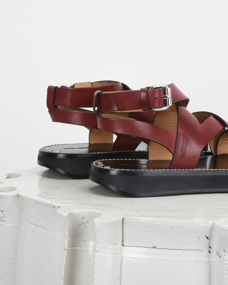 NOELLY platform sandals ISABEL MARANT