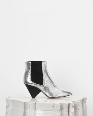 ISABEL MARANT BOOTS Woman LASHBY elasticated ankle boots d