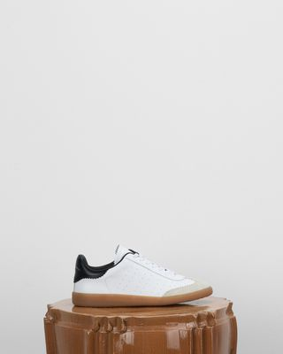 ISABEL MARANT SNEAKERS D BRYCE low top lace up trainers d