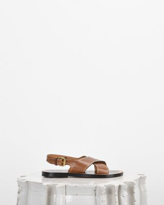 ISABEL MARANT SANDALS Woman JANE crossover sandals d