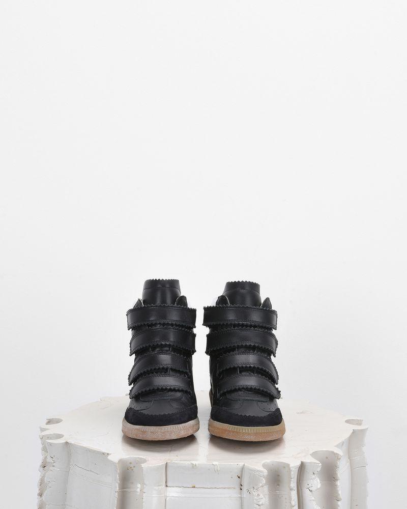 BILSY wedge heel Velcro trainers ISABEL MARANT