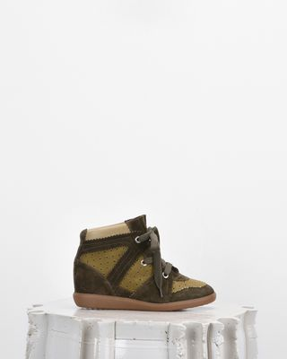 ISABEL MARANT SNEAKERS Woman BOBBY wedge heel sneakers d