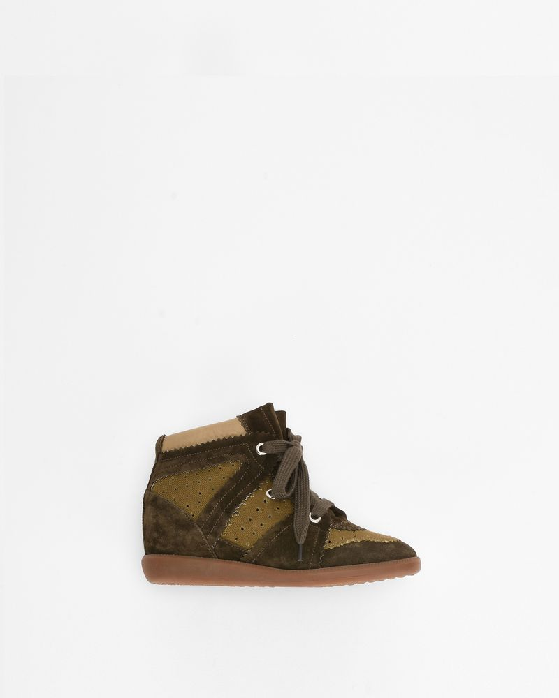 BOBBY Sneakers con zeppa ISABEL MARANT