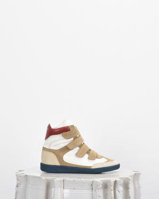 ISABEL MARANT SNEAKERS Woman BILSY wedge heel Velcro sneakers d