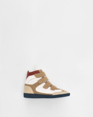 BILSY wedge heel Velcro sneakers