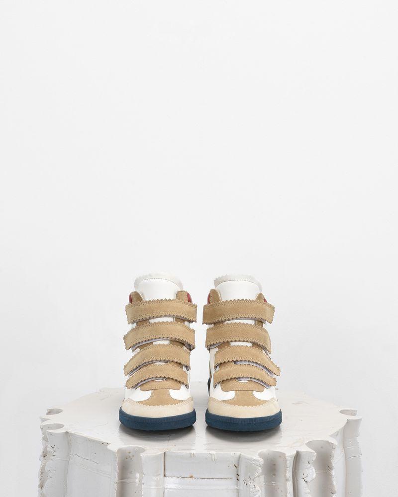 BILSY wedge heel Velcro sneakers ISABEL MARANT