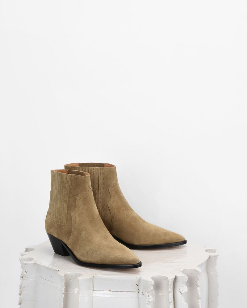 Isabel Marant Derlyn Ankle Boots Outlet Free Shipping Authentic Best Wholesale Cheap Online Shop Offer Online Cheap Sale Fast Delivery wH1FOLHgf