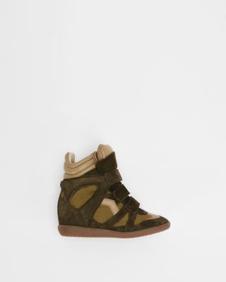 BEKETT wedge trainers